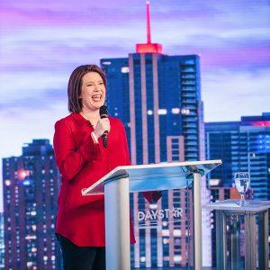 Sarah Speaking